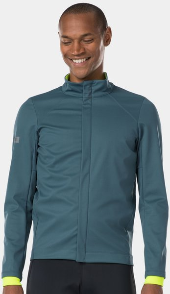 Bontrager Velocis Subzero Softshell Cycling Jacket Color: Battleship Blue