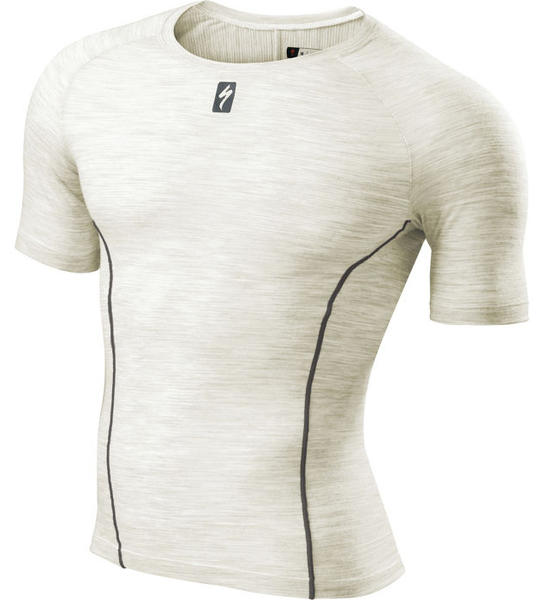 Specialized Merino Short Sleeve Tech Layer Color: Natural White