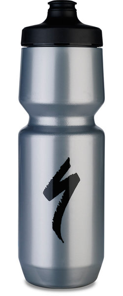 Specialized Purist WaterGate Water Bottle - S-Logo Color: Silver/Black