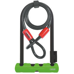 ABUS Ultra 410 U-Lock (9-inch) + Cobra Cable