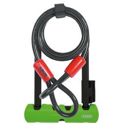 ABUS Ultra 410 Mini LS U-Lock (7-inch) + Cobra Cable