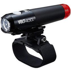 CatEye Volt 400 Duplex Helmet Light HL-EL462RC-H