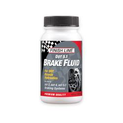 Finish Line DOT 5.1 Brake Fluid (4-Ounce Bottle)