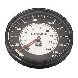 Lezyne 220 PSI 3.5-inch Replacement Gauge