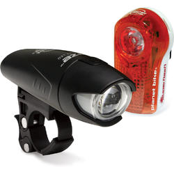 Planet Bike Superflash/Blaze 1/2W Combo Light Set