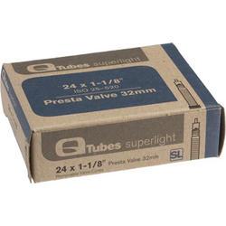 Q-Tubes Superlight Tube (24 x 1-1/8 inch, Presta Valve)