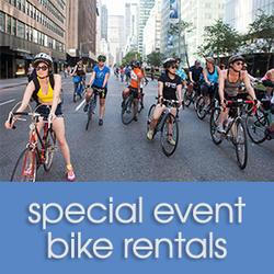 Bicycle Habitat Five Borough Bike Tour Rental - Hybrid Bike Sunday May 5th