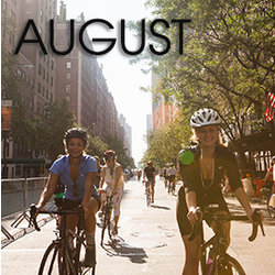Bicycle Habitat Rentals for August