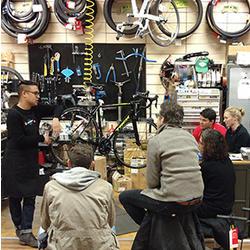 Bicycle Habitat Roadside Repair Class