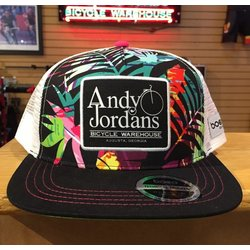 Andy Jordan's Paradise Technical Flat Bill Trucker Hat