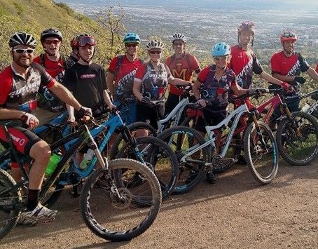 Guthrie Bicycle Club Group Mountain Bike Ride
