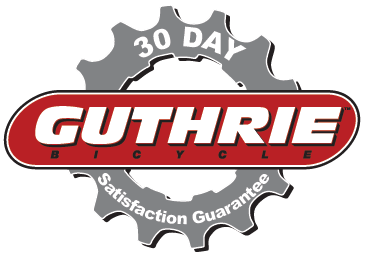 Guthrie Bicycle 30 Day Guarantee Logo