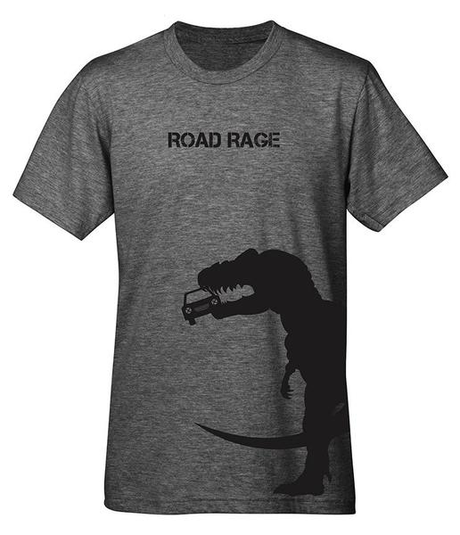 Mechanical Threads Road Rage T-Shirt Grey