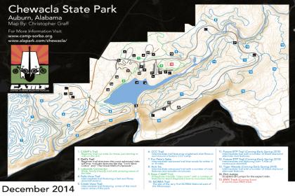 Chewacla State Park - Mountain Bike Trail