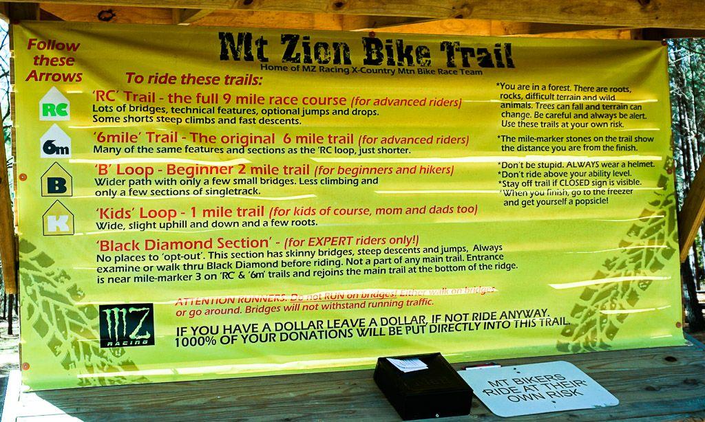 Mt Zion Bike Trails