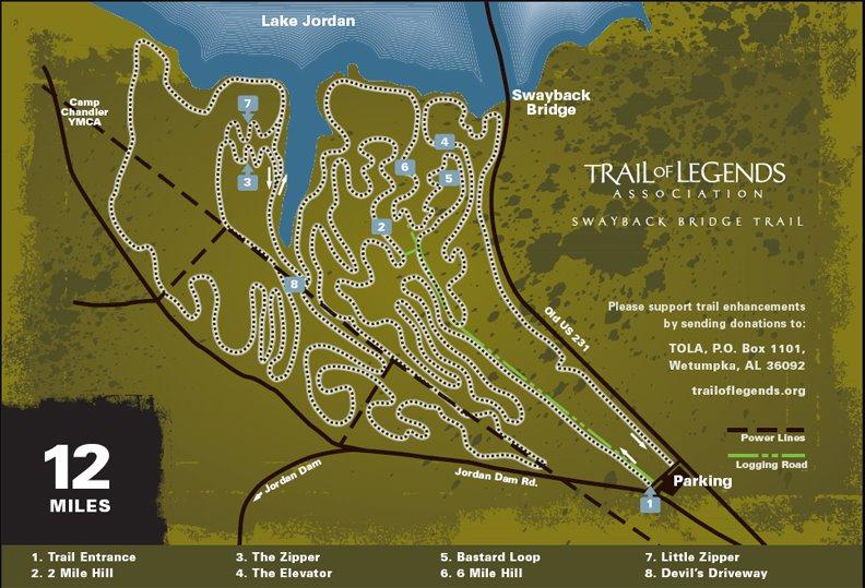 Swayback Bridge Mountain Bike Trails