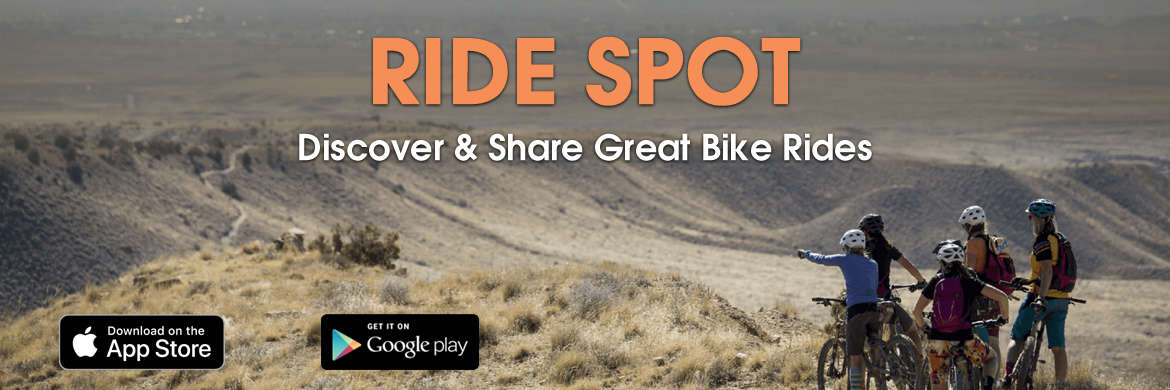 Find the best local routes using the RideSpot app
