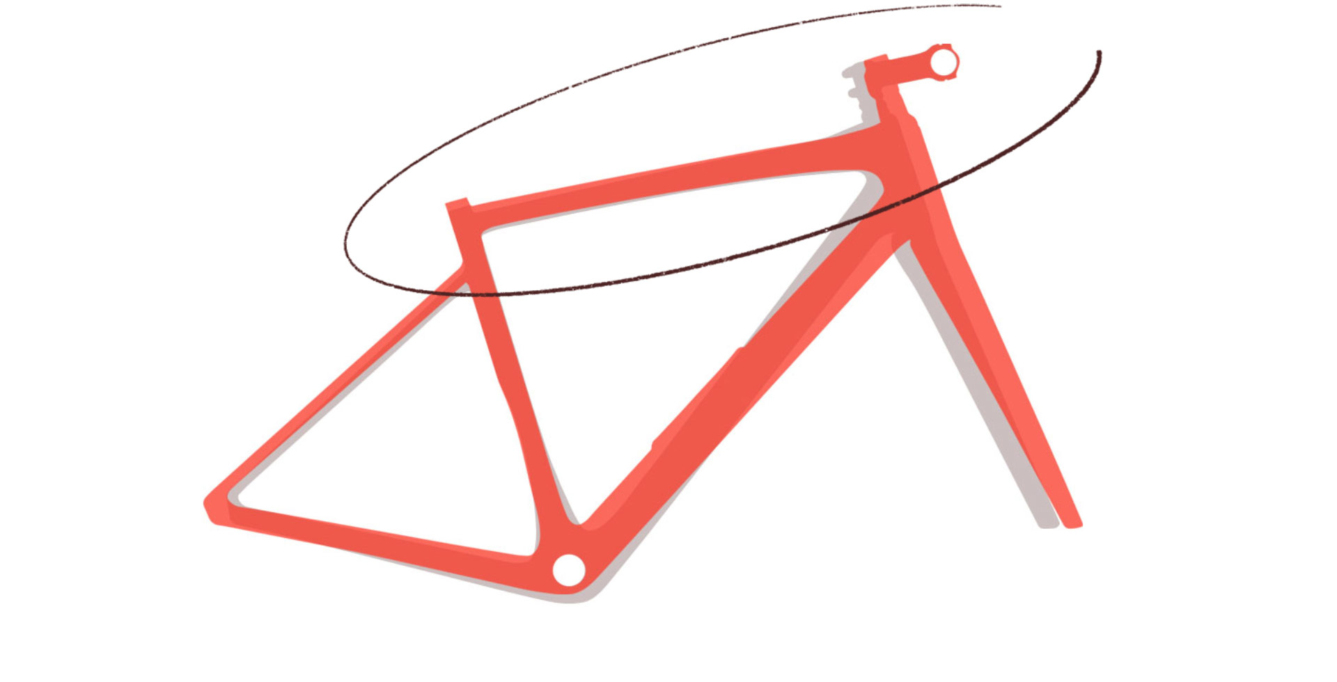 Specialized frame geometry