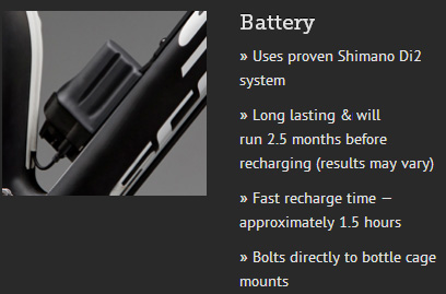 Fox iCD battery