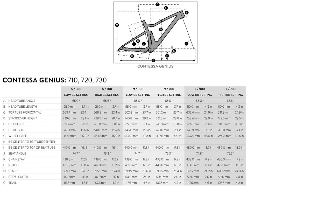 Scott Contessa Genius geometry chart