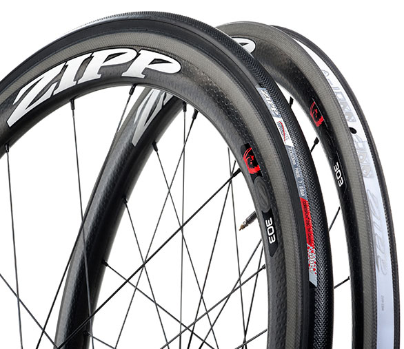 Zipp's dimpled surface for aerodynamics