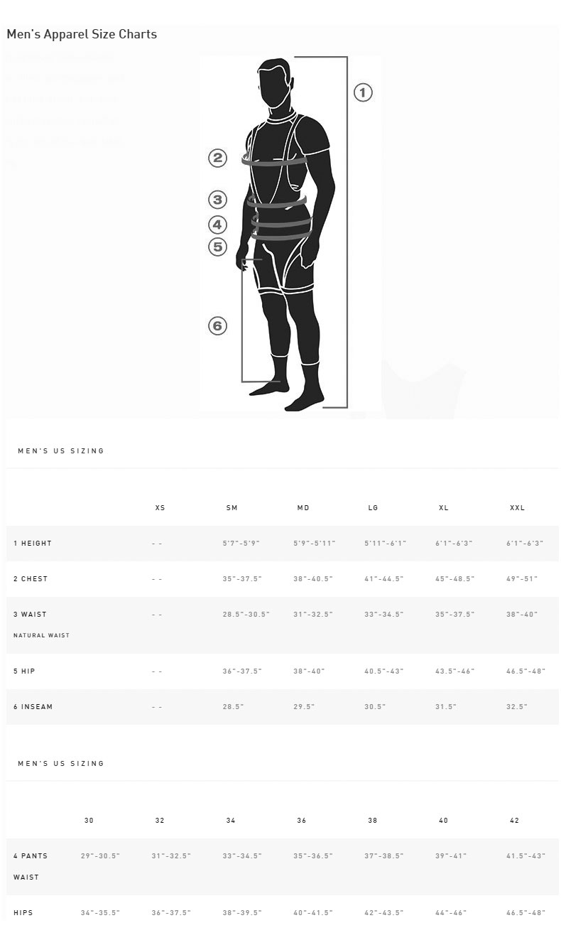 Specialized Atlas XC Pro Sizing Chart