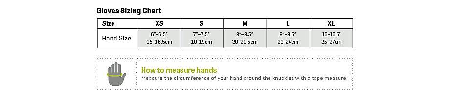 Smartwool glove sizing chart