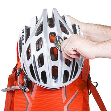 Lidlock helmet attachment
