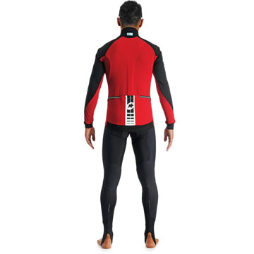 The Assos IJ HaBu 5 Jacket in Red.