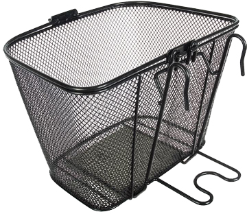 Back view of the QR Mesh Utility Basket.