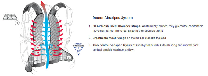 Deuter Airstripes
