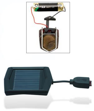 Blackburn 1.5-volt and solar chargers