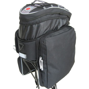 Banjo Brothers' Rack Top Pannier Bag.