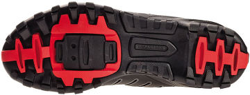 The Sole of Bontrager's SSR Mountain Shoe.