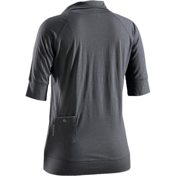 The back of Bontrager's Commuting Wool Top.