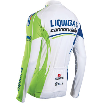 Liquigas-Cannondale Winter Long Sleeve Jersey
