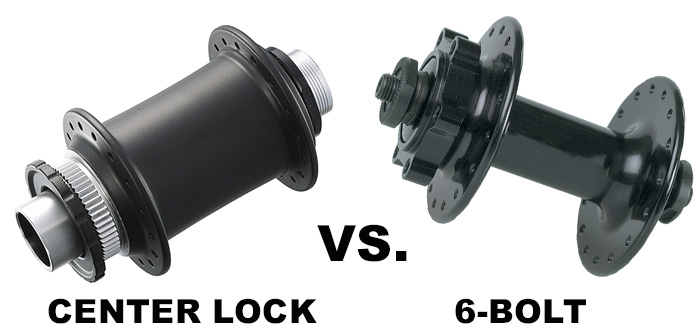 Center Lock Vs. 6-Bolt