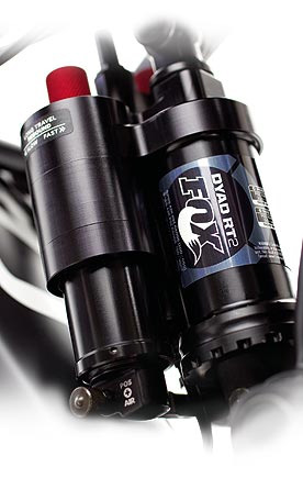 The Cannondale/Fox DYAD Rear Shock.