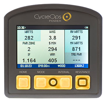The CycleOps Joule 3.0 computer.