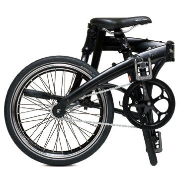 Dahon's Mu Uno in the folded position.