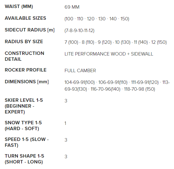 Dobermann Combi Pro S dimensions