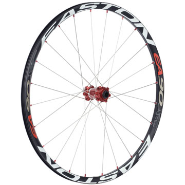 The Easton EA90 XC 29er Front Wheel with 15mm through-axle.