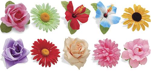 Electra Handlebar Flowers.