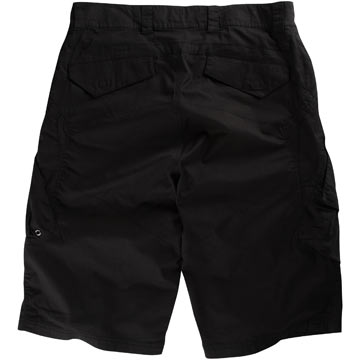 The back of the Fox Sergeant Shorts in Black.