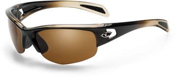 The Giro Semi Full in Bronze Fade w/Brown Polarized lenses.