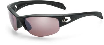 The Giro Semi Full in Matte Black w/Rose Silver lenses.