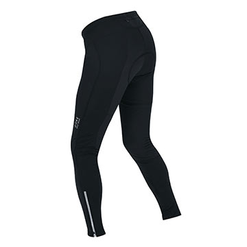 Back view of the Gore Vista Wind Stopper Tights.
