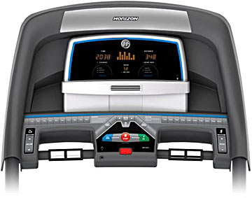 Horizon Fitness T101 Treadmill Console