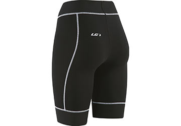 The back of the Garneau Women's Compression Shorts.