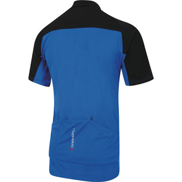 The back of the Garneau Vancouver Jersey in Royal.